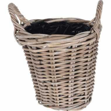 Picknick mand 26 cm voor buiten