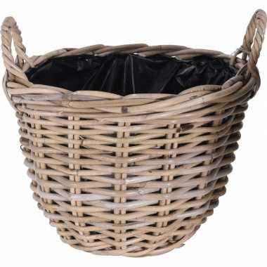 Picknick mand 35 cm voor buiten