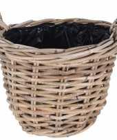 Picknick mand 30 cm voor buiten