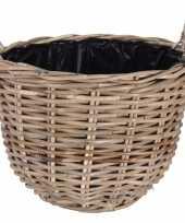 Picknick mand 40 cm voor buiten